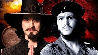 Watch Epic Rap Battles Of History Guy Fawkes Vs Che Guevara video