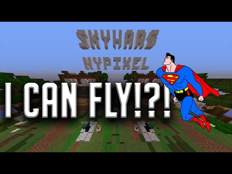 I CAN FLY!?! (No Hacks or Ranks) (Hypixel Skywars)