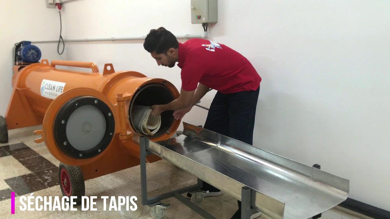 Lavage Et Nettoyage De Tapis En Tunisie Youtube