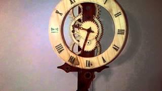 My Complete Wooden Clock.