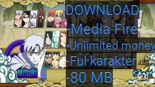 Cara download game Naruto senki versi boruo mod apk + (No password) + cara download apk