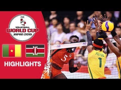 CAMEROON vs. KENYA - Highlights | Women's Volleyball World Cup 2019