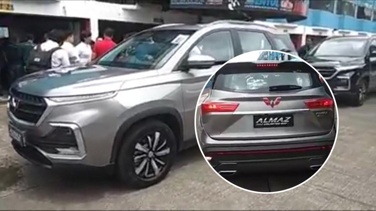 Penampakan SUV Wuling Almaz, Pesaing Toyota Fortuner dan Pajero yang Dibandrol Hanya Rp 300 Juta