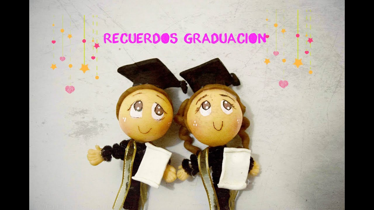 Como Hacer Recuerdos De Graduacion