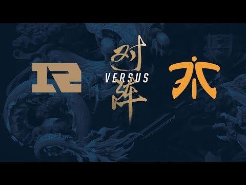 Campeonato Mundial de League of Legends 2017 - Eliminatorias - Día 3 (RNG vs FNC)