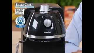 Купить кофеварку эспрессо SILVERCREST Espressomaschine SEM 1100 A27031(, 2013-05-16T18:47:50.000Z)