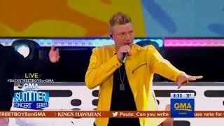 Backstreet Boys perform 'Everybody' on Good Morning America