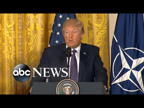 President Trump on NATO: 'It's no longer obsolete'