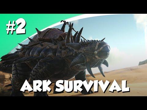 THORNY DRAGON TAME EN EEN NIEUWE BASIS! (Ark Survival Evolved #2)