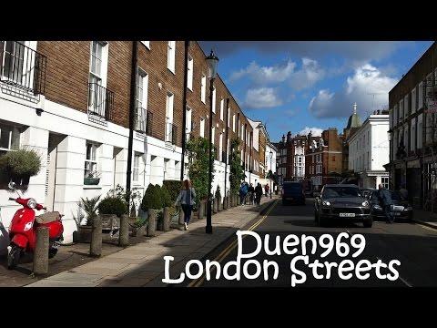 London Streets (584.) - Fulham - Chelsea - Belgravia