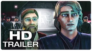 STAR WARS THE CLONE WARS Official Trailer #1 SDCC Comic Con 2018 (NEW 2019) Animated Series HD