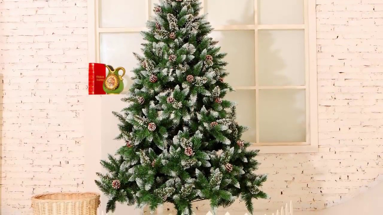 yorbay weihnachtsbaum 120cm 210cm youtube. Black Bedroom Furniture Sets. Home Design Ideas