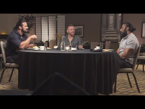 McIntyre, Mahal & Slater Recall The Hilarious Beginnings Of 3MB On Table For 3 (WWE Network)