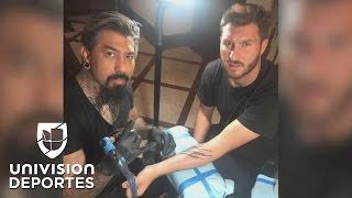 Gignac ahora lleva su amor por Tigres en la piel… en un tatuaje