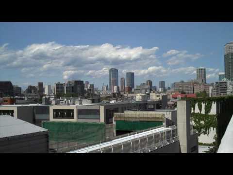 Raw Footage: Tokyo from Shirokanedai in Minato-ku, Tokyo