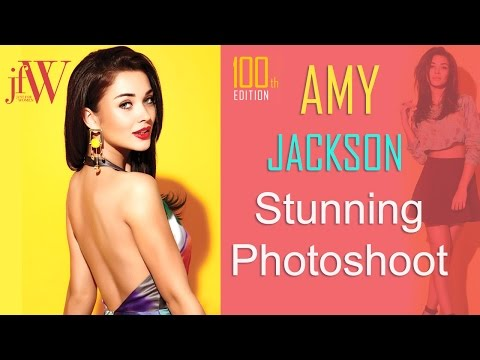 Amy Jackson Stunning Photoshoot   100th Edition   JFW Cover Shoot   Just For Women Photoshoot