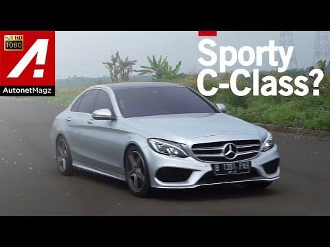 Review Mercedes-Benz C250 AMG Line test drive by AutonetMagz