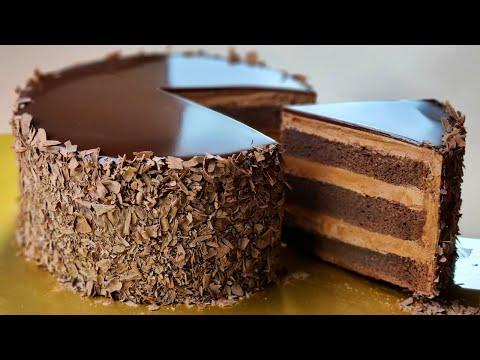 컵 계량 / 촉촉한 초콜릿 케이크 / Moist Chocolate Cake Recipe / Best Chocolate Buttercream / 초코 버터크림 만들기 / ASMR