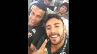 Выживший в авиакатастрофе в Колумбии опубликовал видео из салона самолёта(, 2016-11-29T09:22:52.000Z)