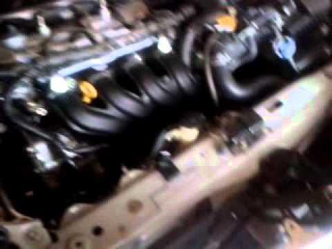 Hydrogen Fuel Vaporizer on a Toyota Yaris 2014