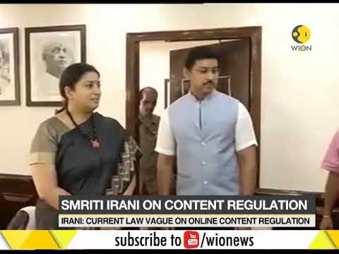 Indian government considers control on online media content