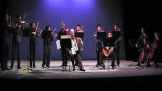 Concerto Armonico, R. Caberlotto, acordeón, guitarra y orquesta de cuerdas 1 Allegro Vivaldiano