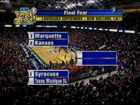 Syracuse Wins East Regional 2003 NCAA Tournament