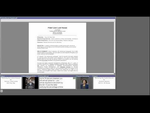 Developing your Federal Resume, Ramona Ramsey