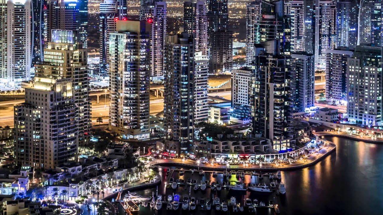 Dubai Marina Timelapse