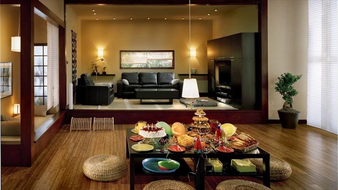 Japanese Interior Design Living Room Youtube