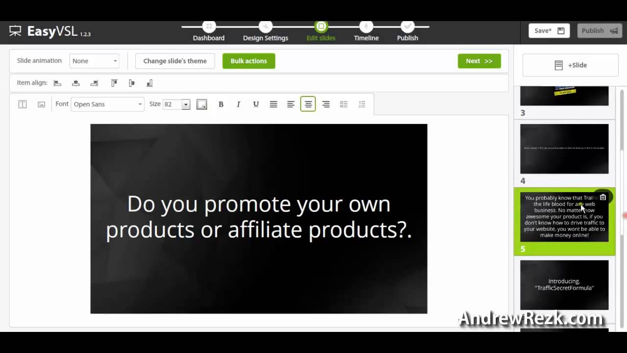 Easyvsl Review Video Sales Letter Creator Demo Youtube