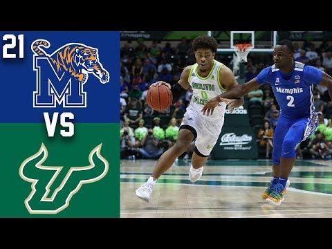 2020 College Basketball #21 Memphis Vs South Florida Highlights