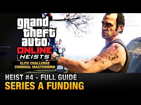 GTA Online Heist #4 - Series A Funding (Elite Challenge & Cr