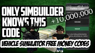 Roblox Vehicle Simulator + коды на деньги