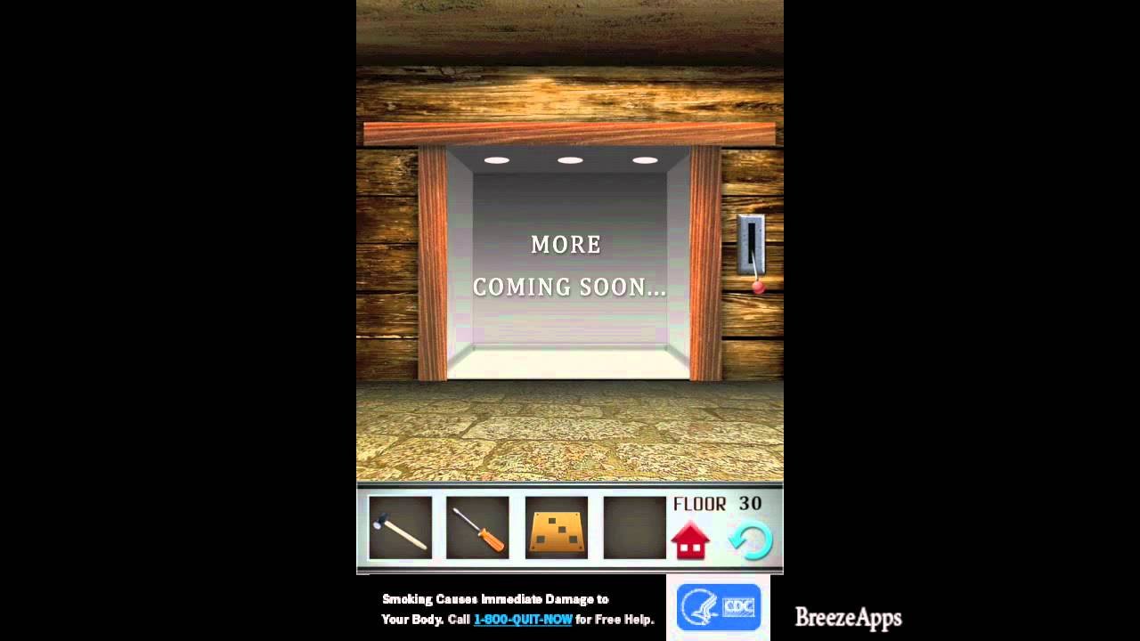 100 Floors Level 30 Walkthrough Final Level 100 Floors Solution Floor 30 Iphone Ipad Youtube