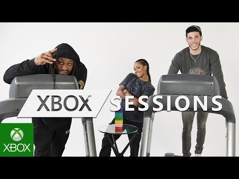 Xbox Sessions | Battle of the Athletes – Marshawn Lynch and Lonzo Ball