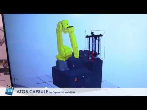 TECH CORNER: New ATOS Capsule High Resolution 3D Scanner by Capture 3D and GOM