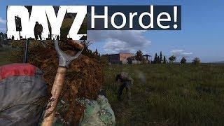 DayZ Xbox One Gameplay Airfield Horde & Zombie Glitch