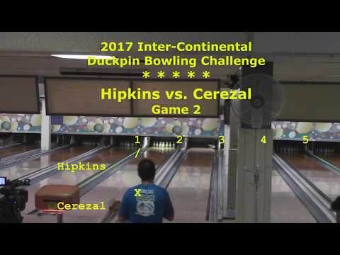 2017 IDBC Championship: Hipkins vs. Cerezal (Game 2)
