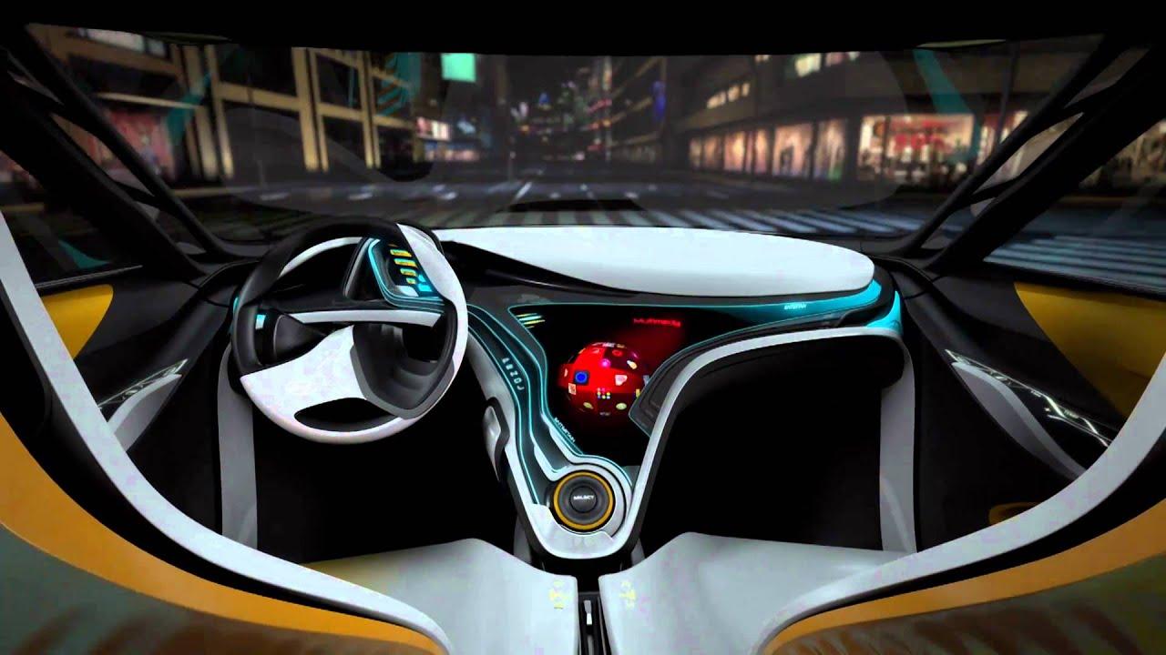 Hyundai curb concept car