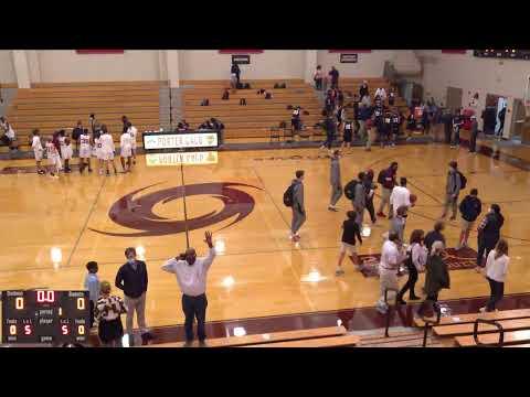 Porter-Gaud vs. Beaufort Academy JV Mens' Basketball