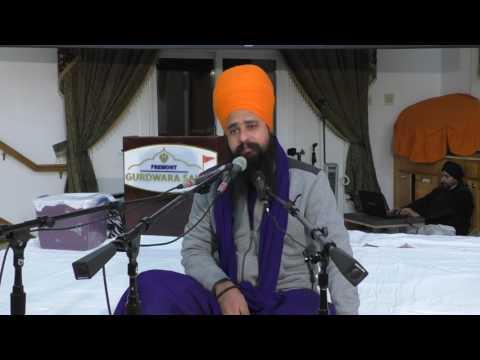 18 Chaupai Sahib katha by Khalsa ji fremont 18 Feb 2017