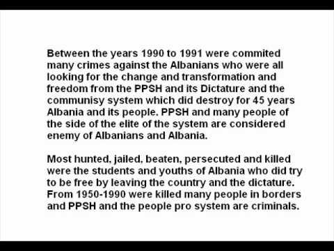 Communism in Albania in 10 minutes