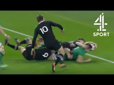 Ireland vs. New Zealand | Stockdale's Try, Haka & Interview with Rory Best | Rugby Union