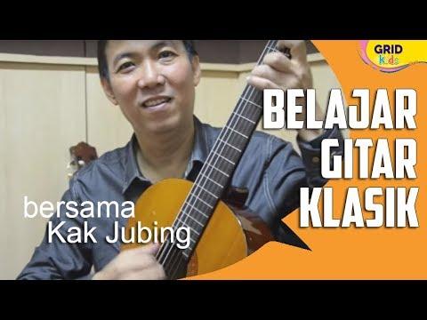 Ini Dia Cara Memainkan Gitar Klasik
