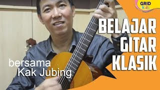 Repeat youtube video Ini Dia Cara Memainkan Gitar Klasik