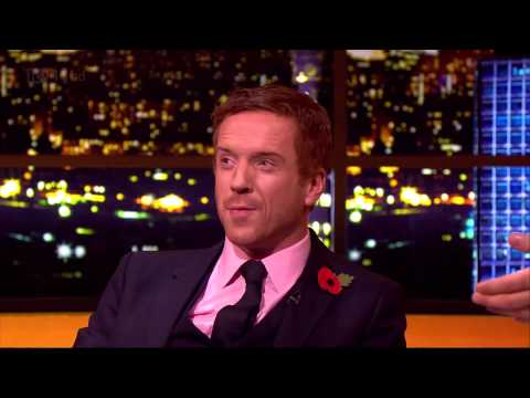 Damian Lewis on The Jonathan Ross   10 November 2012.