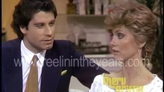 John Travolta & Olivia Newton John-  Interview on  - Grease (Merv Griffin Show  )