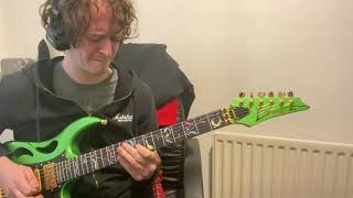Shredding on the Ibanez Pia part 2 - this guitar seriously rips!