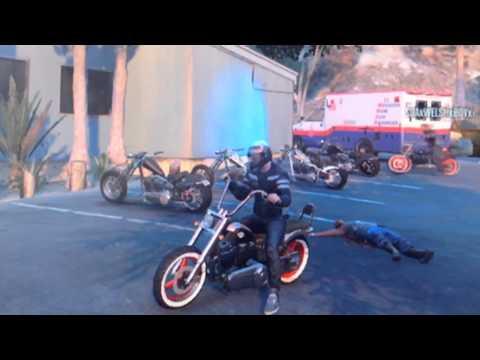 Gta 5 sons of anarchy bike meet up SOA crew